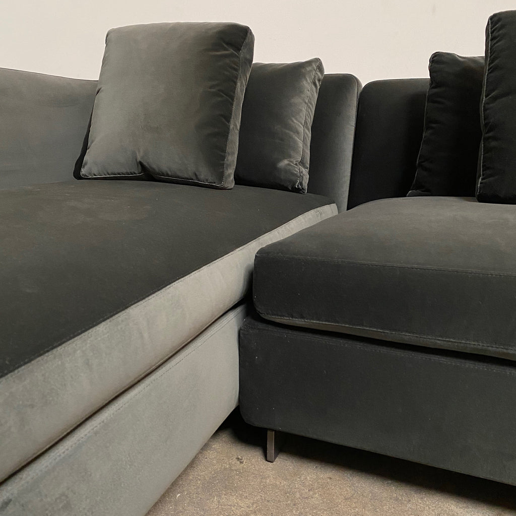 Seymour Sectional w/ Left Chaise - Modern Resale