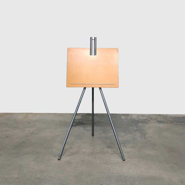 Modern Wood and Metal Adjustable Easel