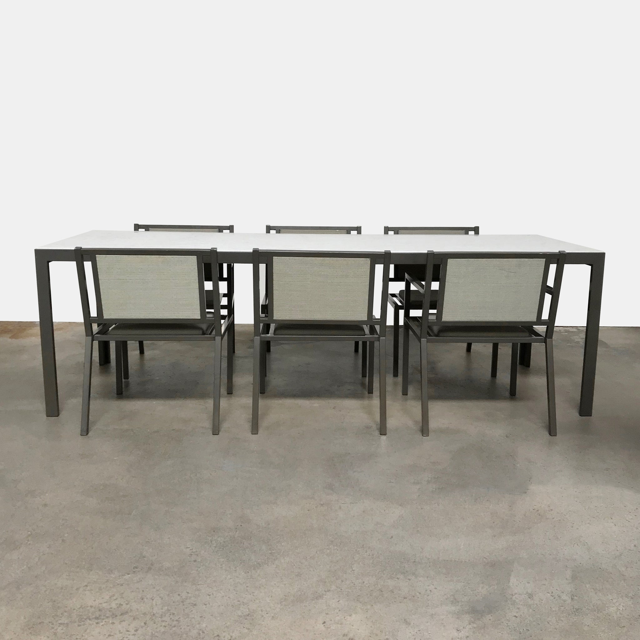 Case study outdoor dining table 7 chairs