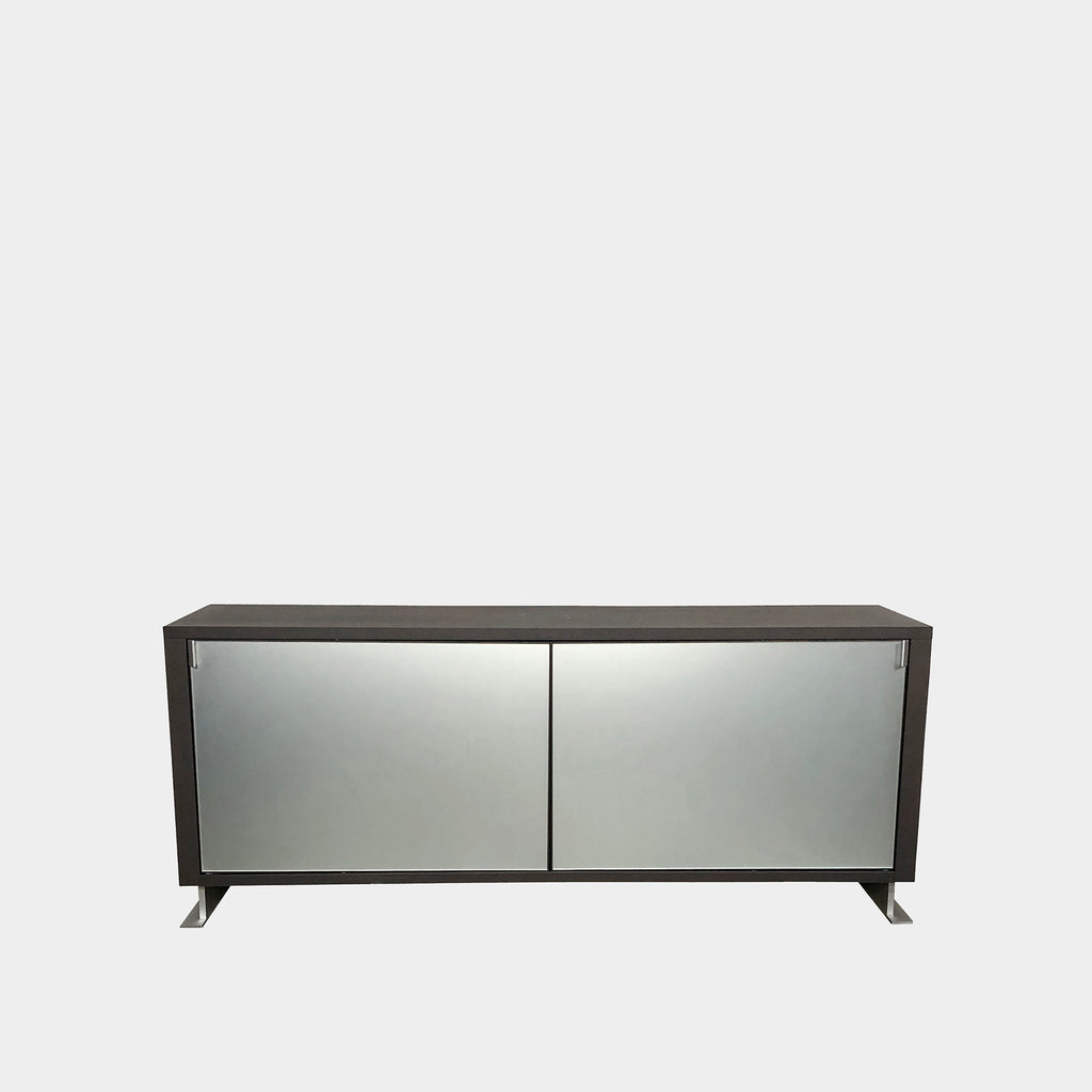 Molteni & C Wood and Glass Credenza