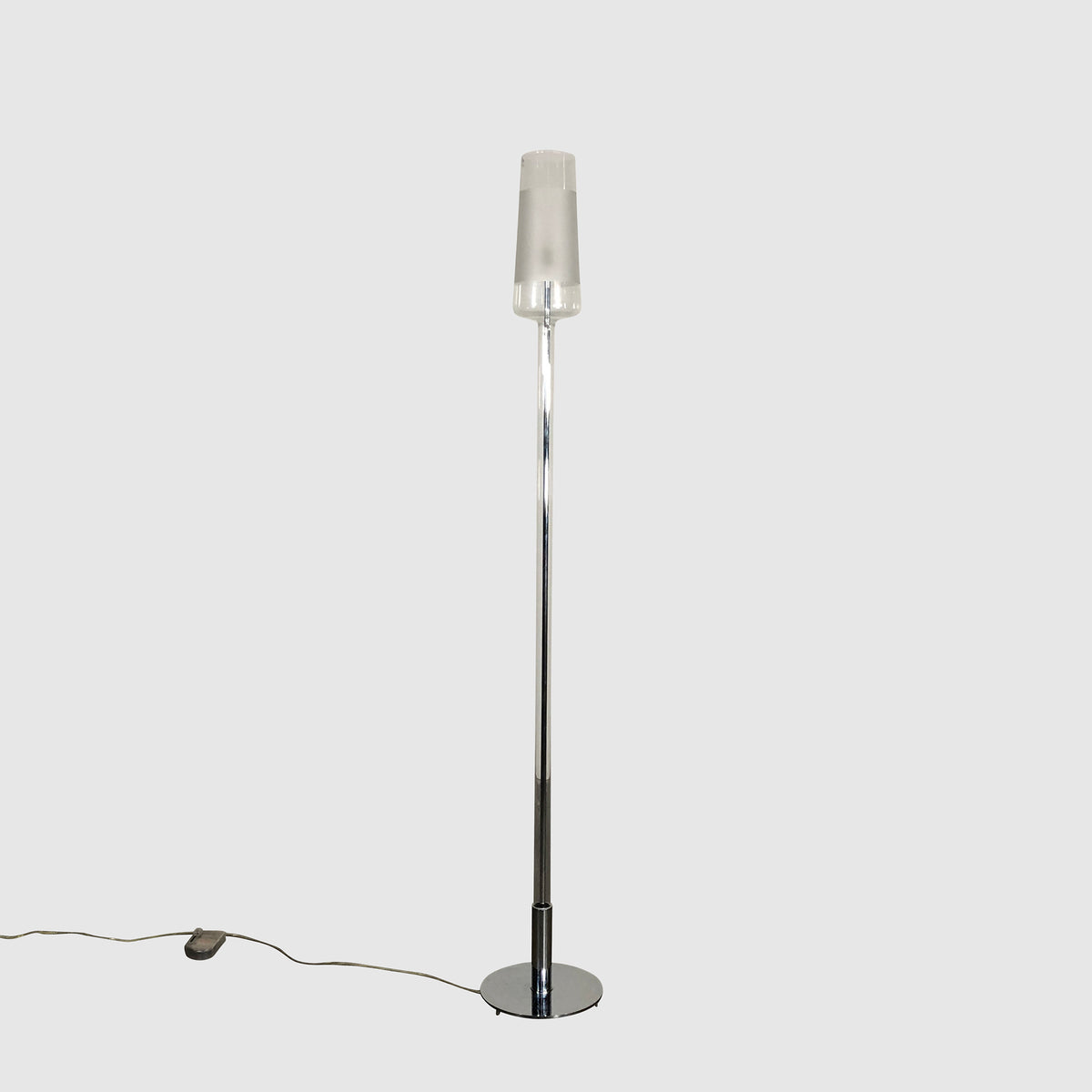 Penta Light Luume Glass Floor Lamp by Umberto Asnago