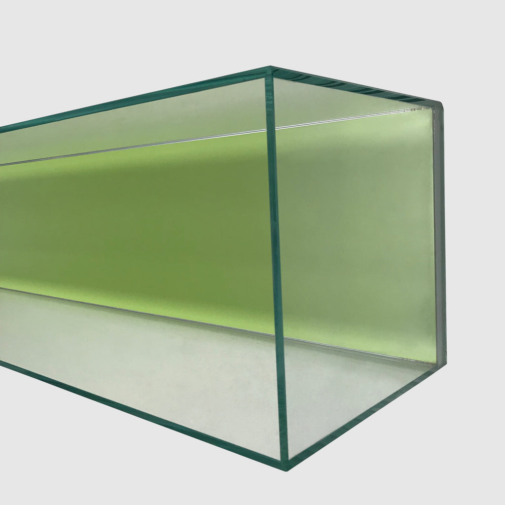 Origamibook Glass Wall Shelf - Modern Resale