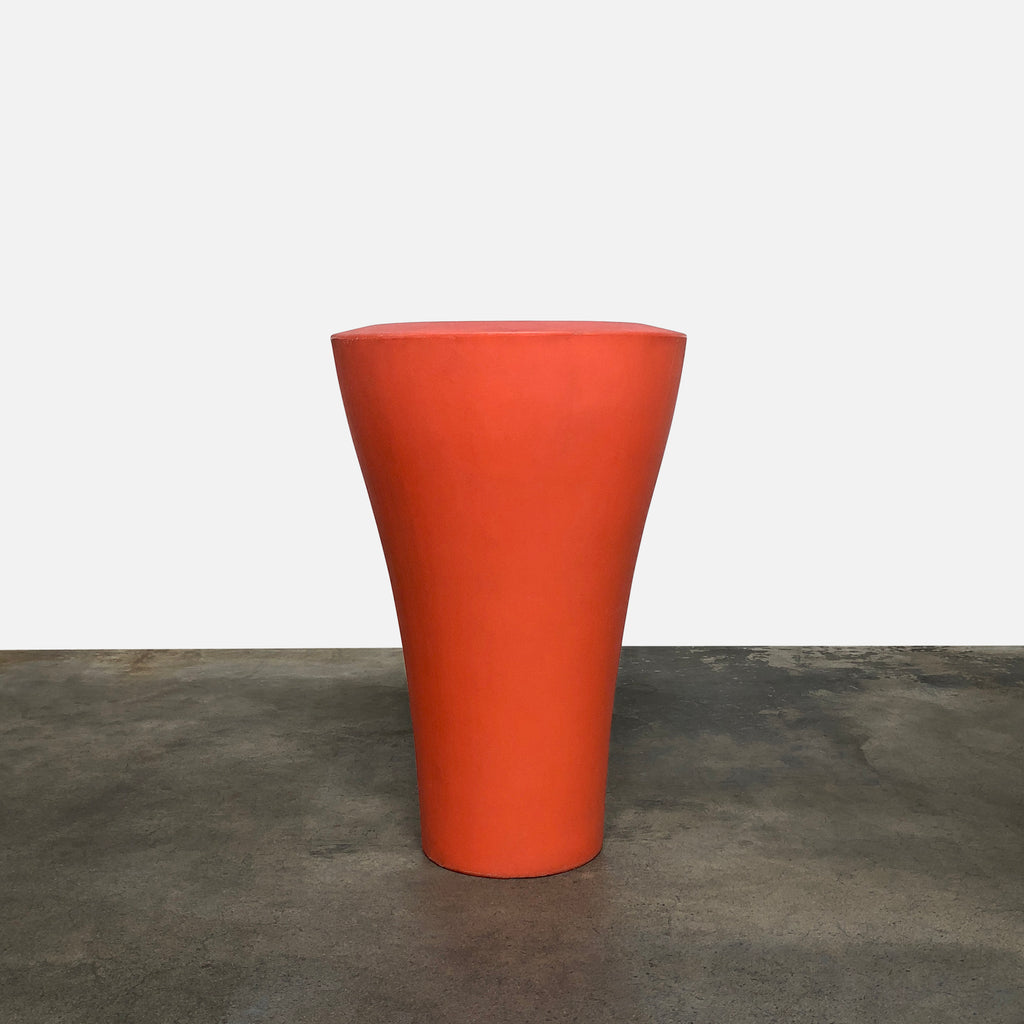 Serralunga Outdoor Orange Ming Planter Pot by Rodolfo Dordoni