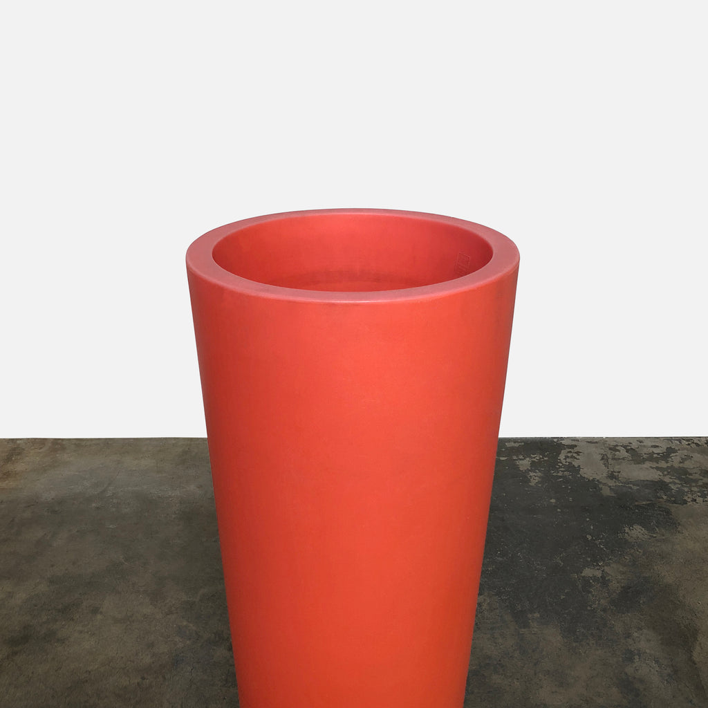 Orange Ming Planter Pot, Planter - Modern Resale