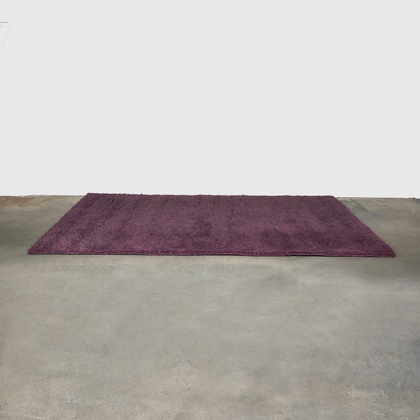 Hand Tufted Pink and Purple/Fuchsia Shag Rug