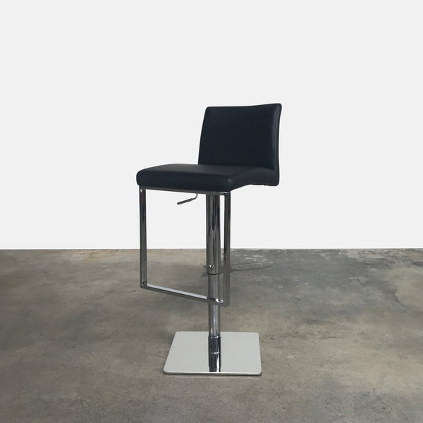 Adjustable Leather Swivel Stool (4 in stock)