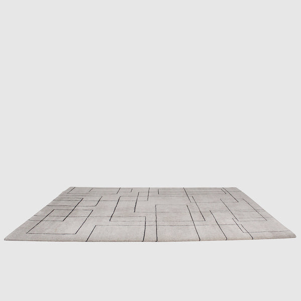 The Rug Company Cityscape 100 Knot Rug by Sam Turner
