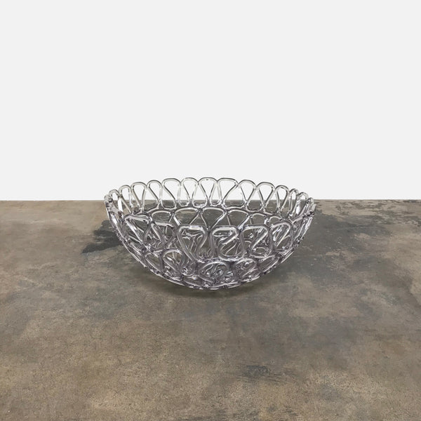 Tom Dixon Clear Fresh Fat Bowl (Large)