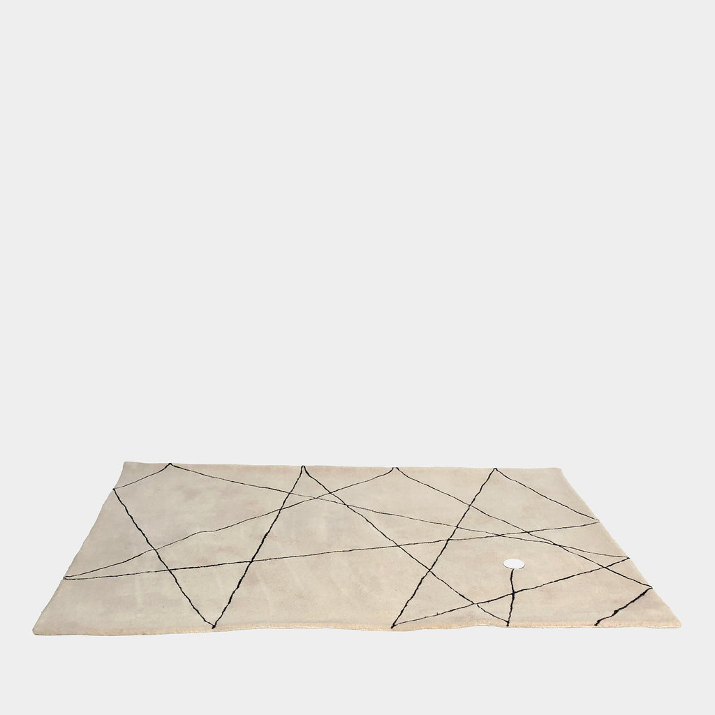 Palet Rug White from Sismo Collection