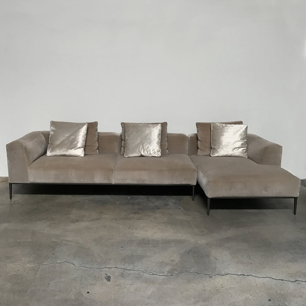 Michel Effe Sectional, Sectional - Modern Resale