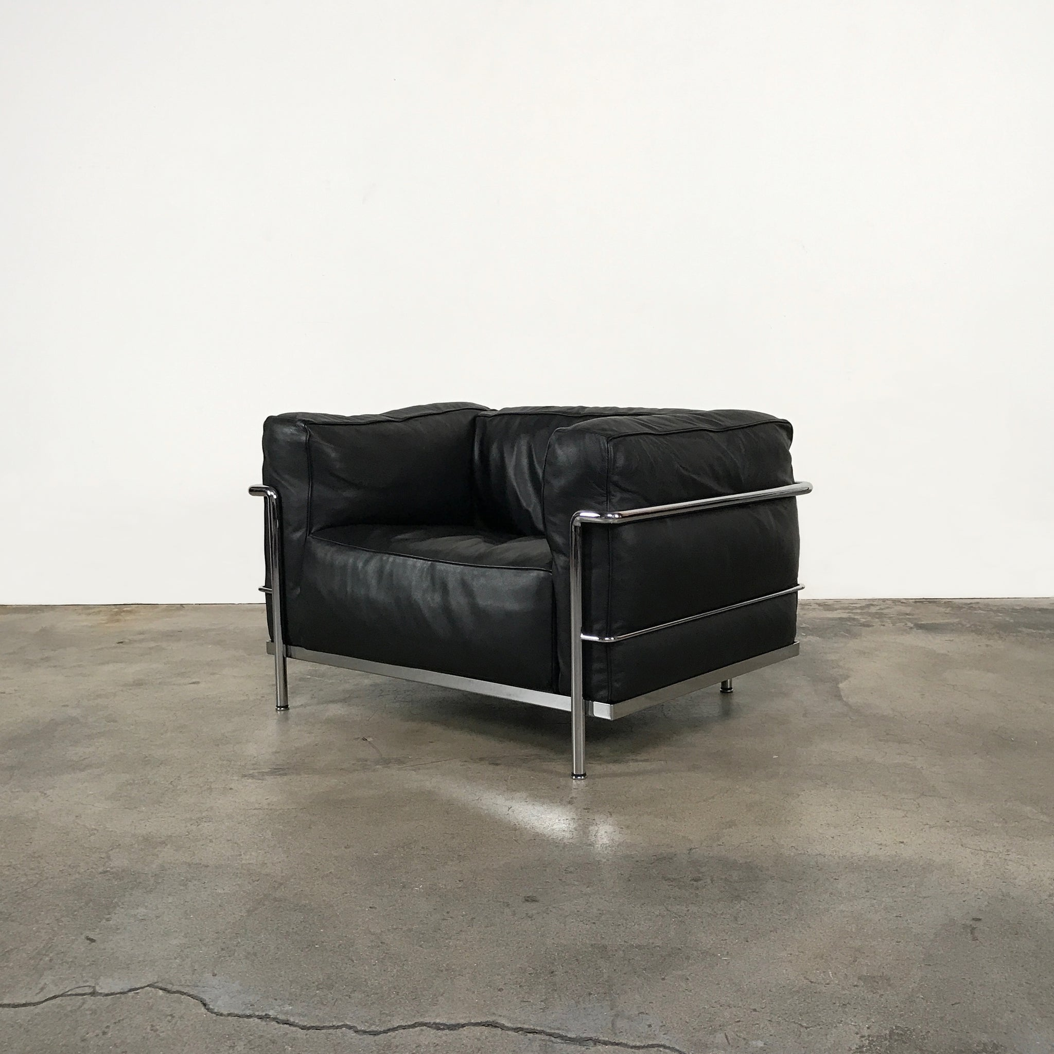 id lounge chair retouched furniture mariani leather postmodern at f chairs pair seating view black version pace of org