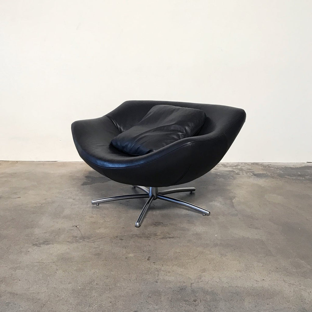 Gigi Swivel Armchair (2 in Stock) - Modern Resale