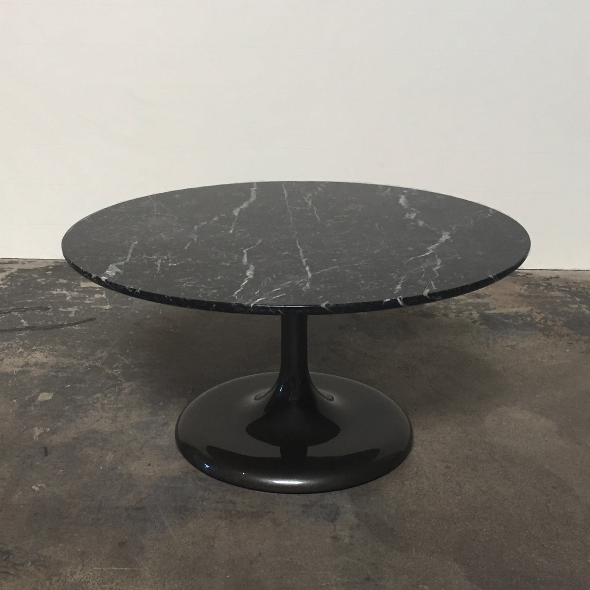 Minotti Black Marble Neto Coffee Table by Rodolfo Dordoni