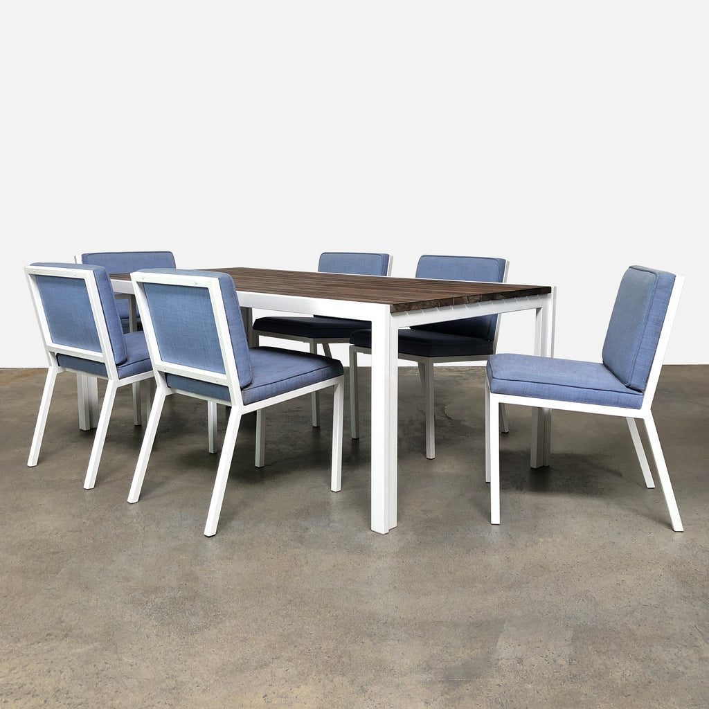 Outdoor Dining Table & Chairs (sold as a set) - Modern Resale