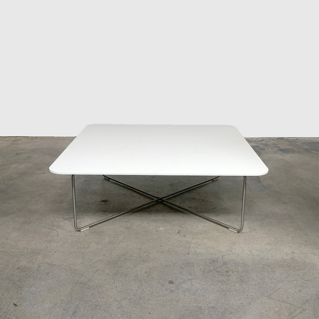 Cappellini 'Orly' White Lacquer Coffee Table