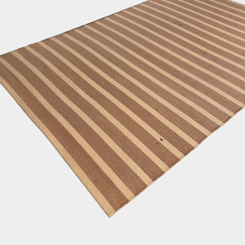 Woodnotes Striped Yarn Rug