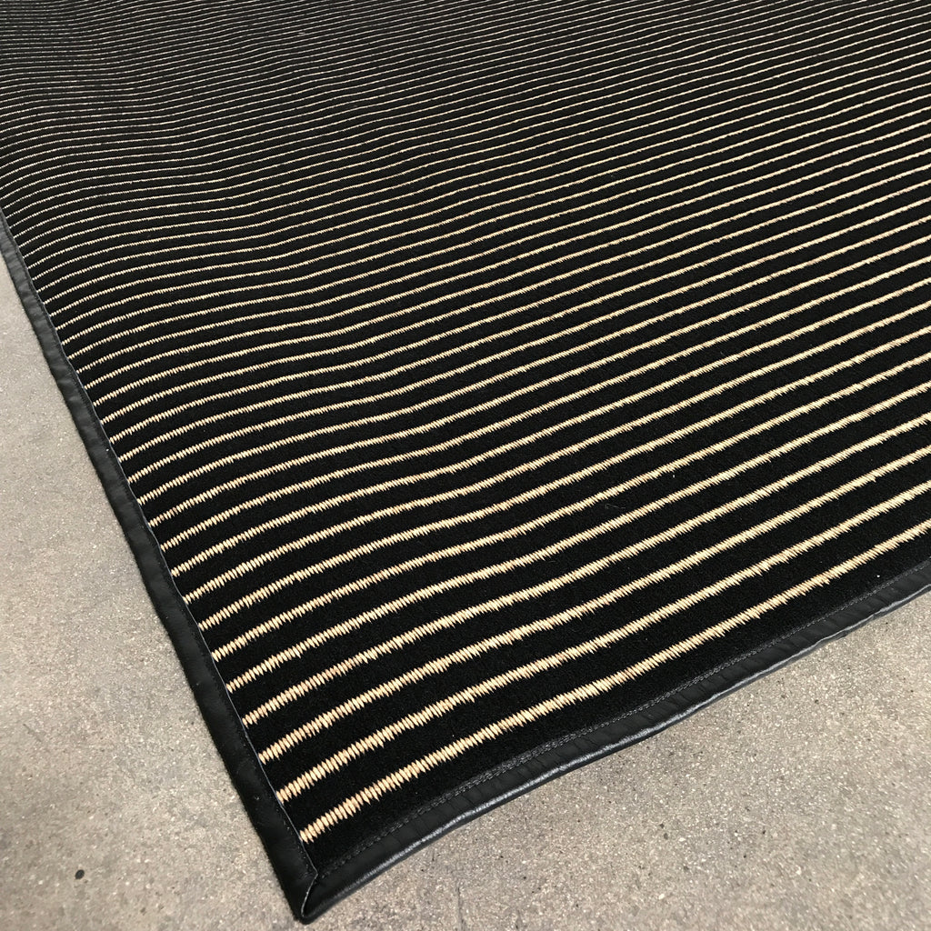 Stripes Paper Yarn Rug - Modern Resale
