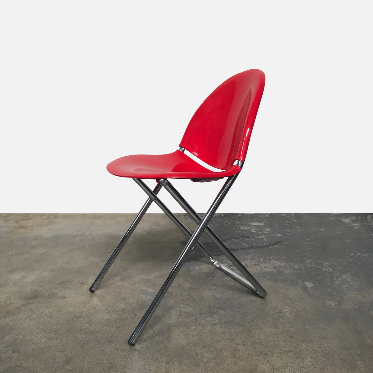 Swell Fol D Folding Chair Red Gmtry Best Dining Table And Chair Ideas Images Gmtryco