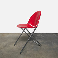 Fol D Folding Chair (Red: 10 in stock / White: 3 / Brown: 8)
