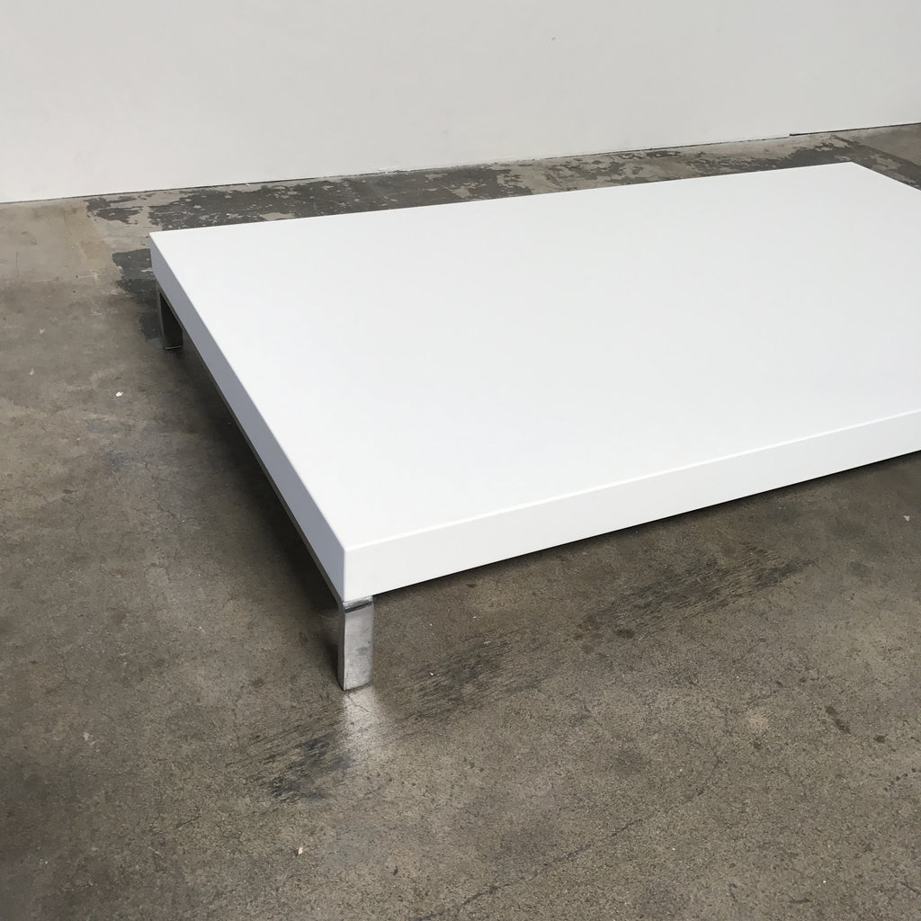 Greggy Coffee Table (White), Coffee Table - Modern Resale