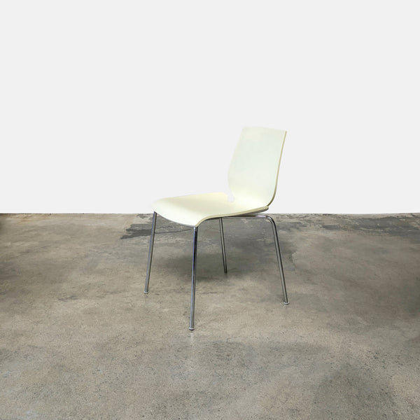 Zanotta Ivory Dining Chair | LA | Consignment