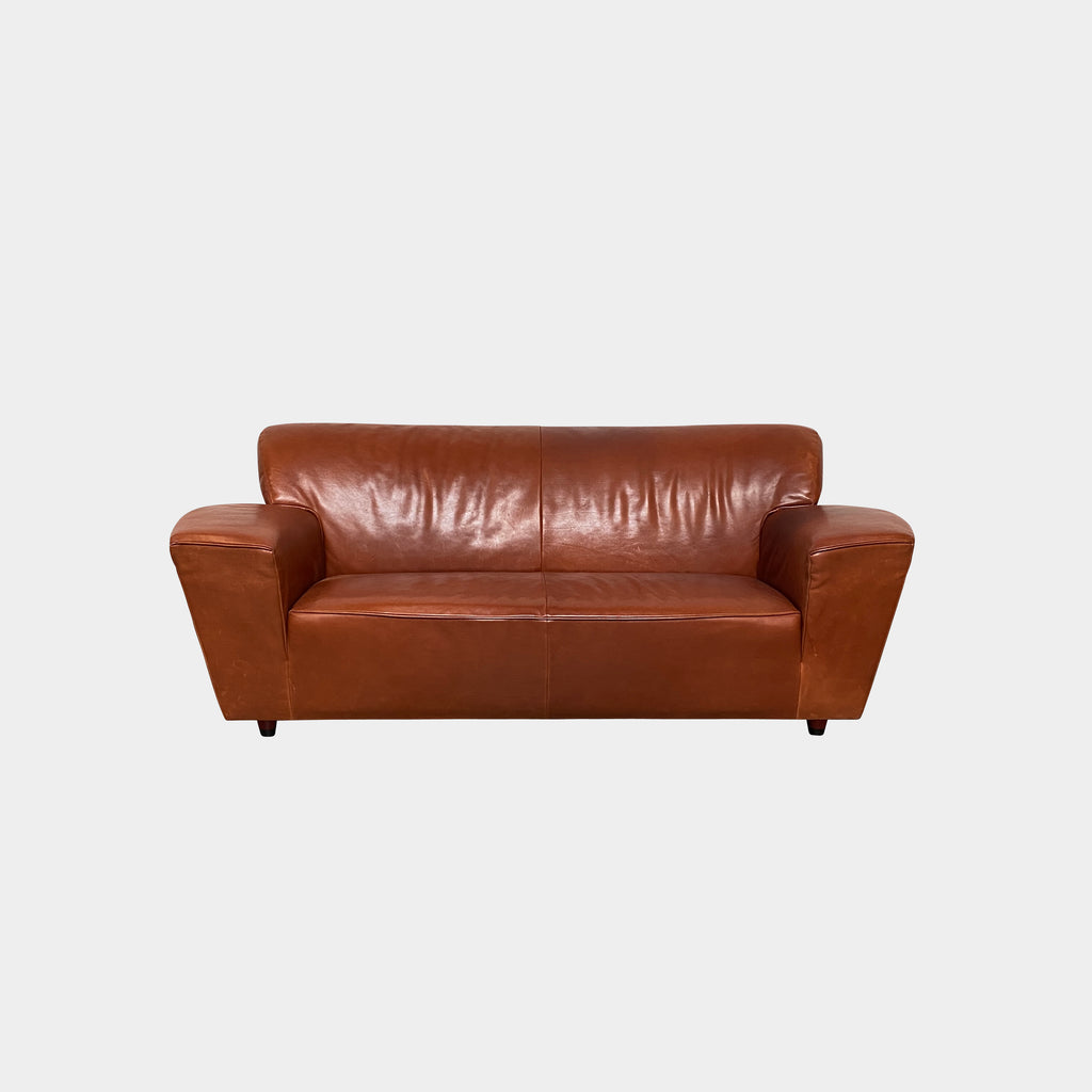 Corvette Leather Sofa, Sofa - Modern Resale