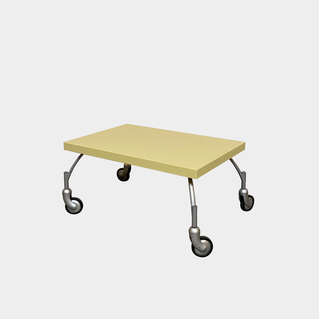 Schopenhauer Low Table with Castors, Table - Modern Resale