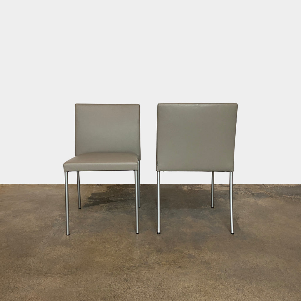 Pair of Jason Lite Dining Chairs, Chair - Modern Resale