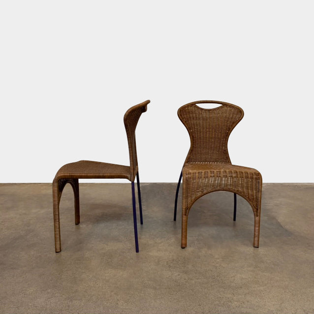 Vintage Wicker Chairs, Chair - Modern Resale