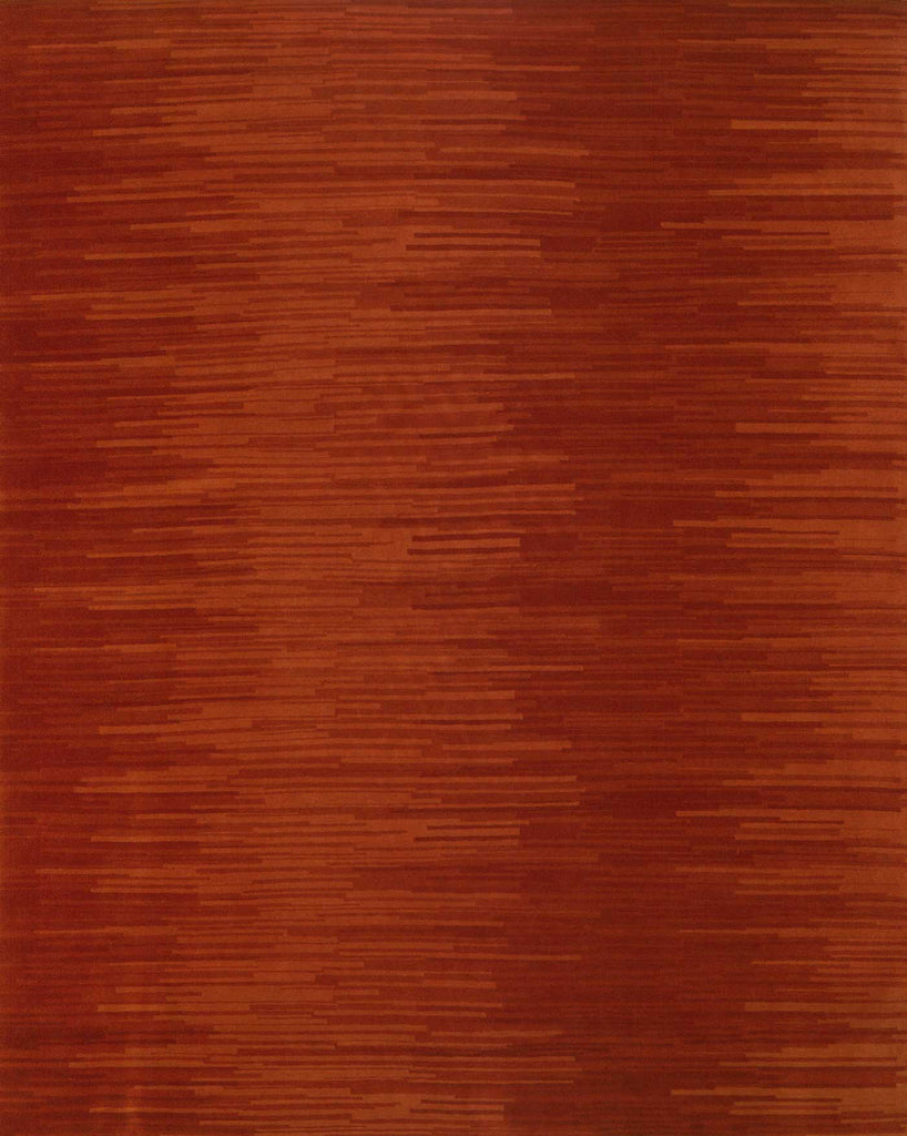 Fusion Red Wool 8'X10' Rug, Rug - Modern Resale