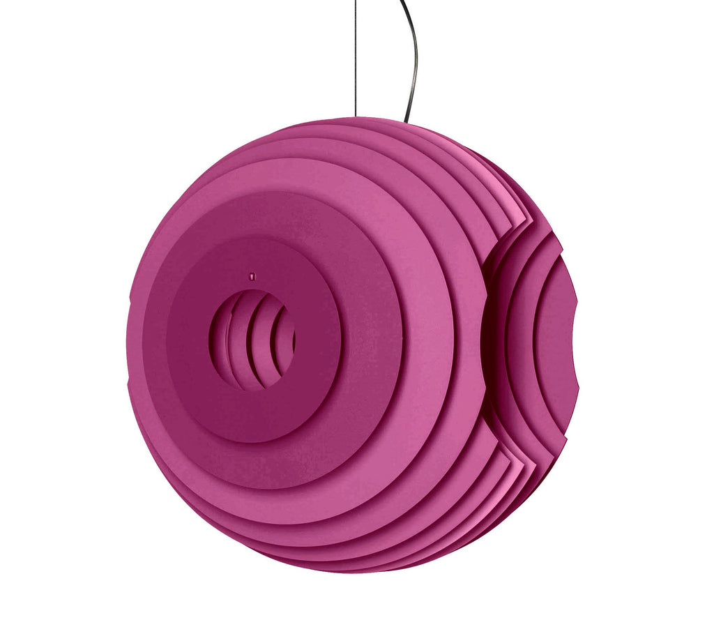 Foscarini Fuchsia Supernova Pendant Light by Ferruccio Laviani