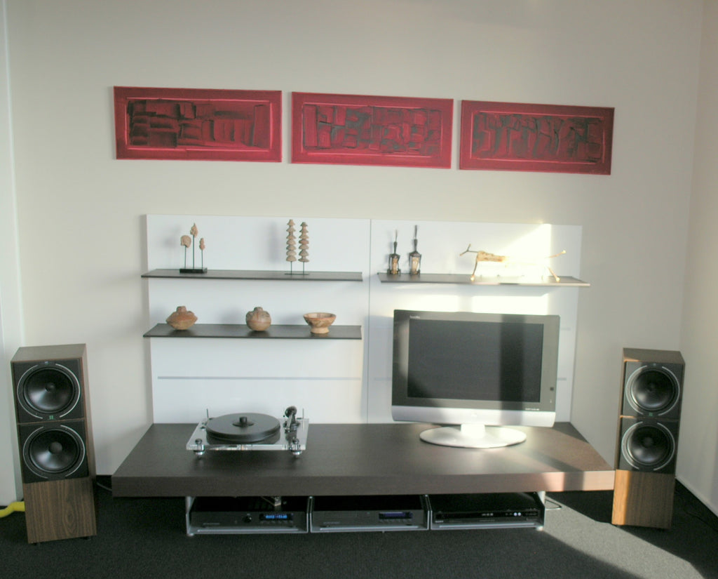 Pass Shelving Unit With Media Console, Console, media storage - Modern Resale