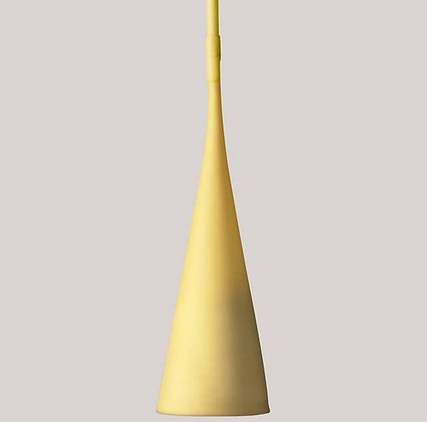 Foscarini Yellow Uto Indoor/Outdoor Suspension Lamp by Lagranja Design