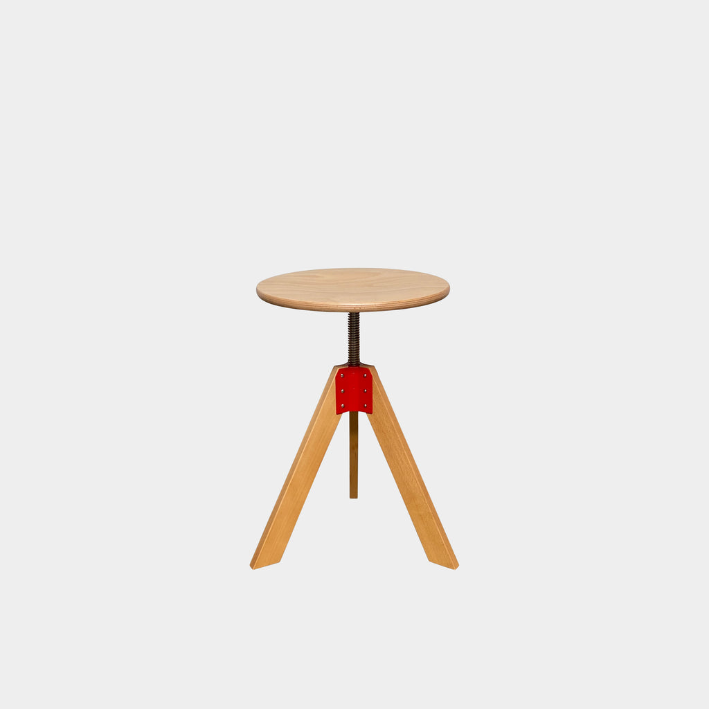Giotto Wooden Adjustable Stool, Stool - Modern Resale