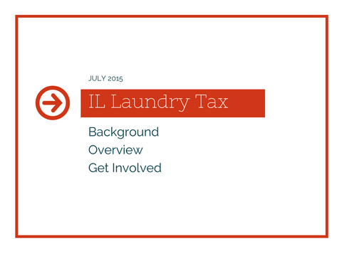 Illinois proposed self service laundry tax