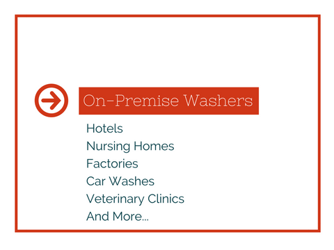 IPSO on-premise commercial washers
