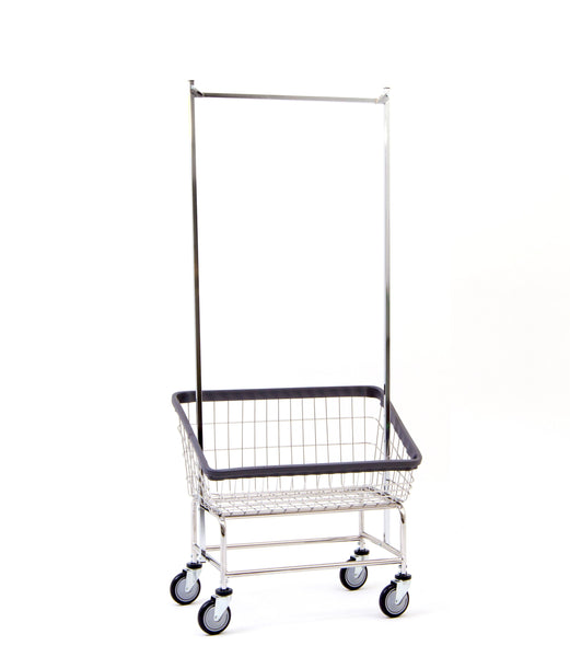 200S56 Large Capacity Front Load Laundry Cart w/ Double