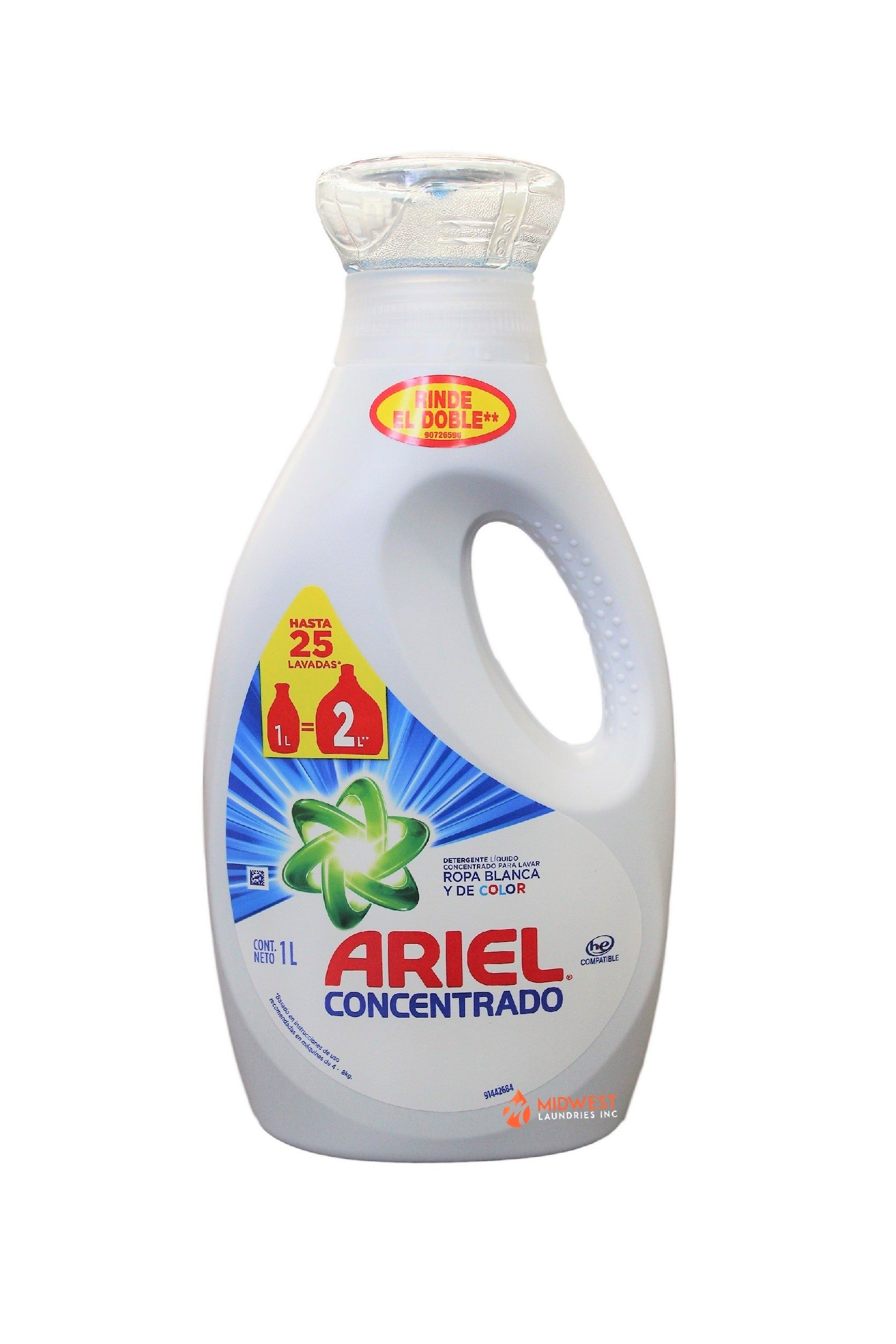 Ariel Liquid Detergent, 33 8oz - 12ct