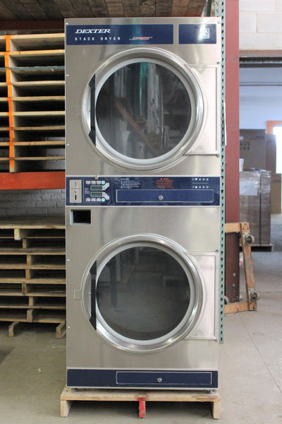 Used Coin Operated Dexter Stack Dryer Ddad30kcs Midwest