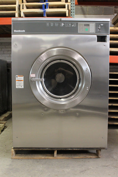 Used 80lb Huebsch Coin Operated Washer Hc80bc Midwest