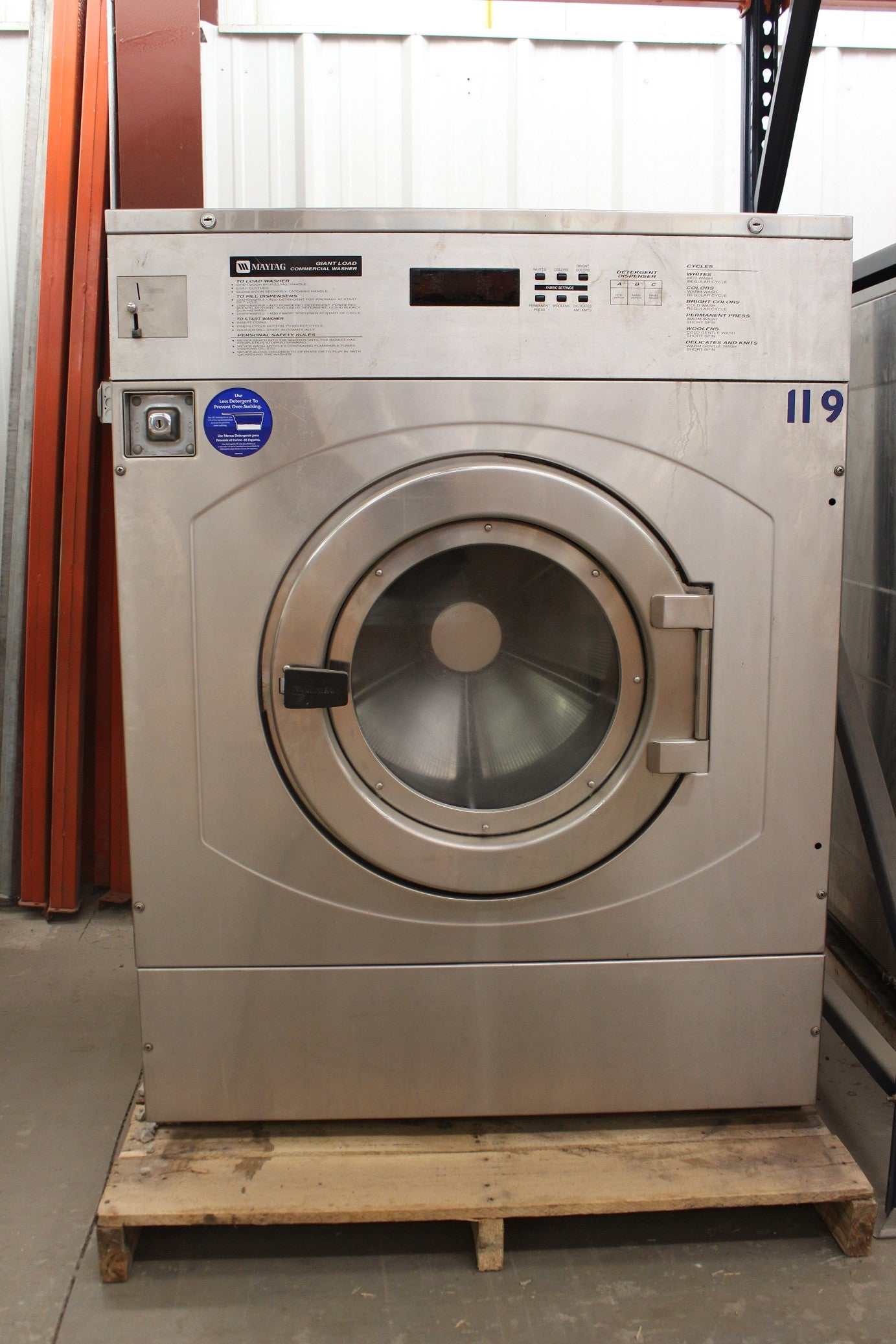 Maytag MFR80PDAVS Midwest Laundries Inc