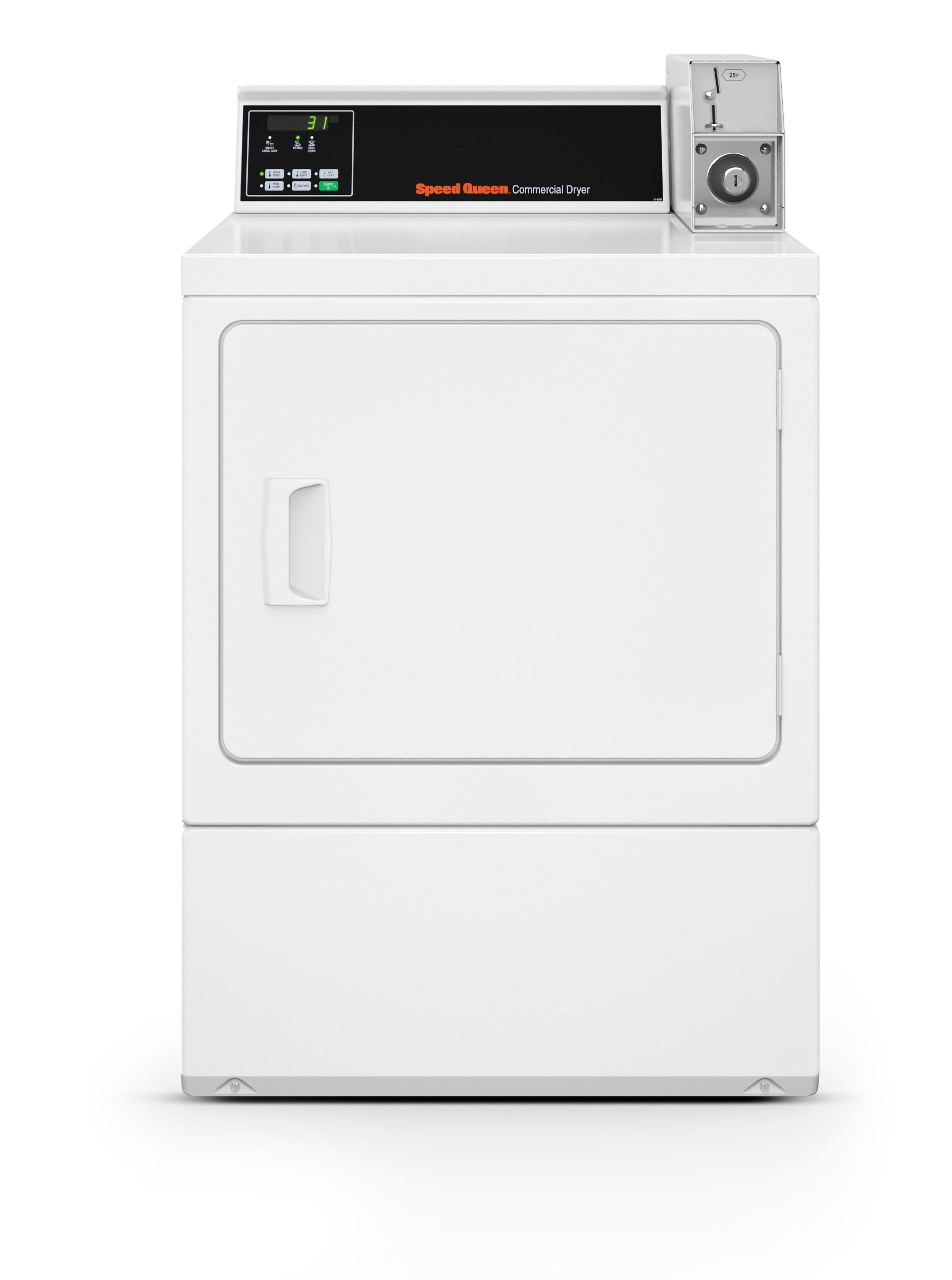 Speed Queen Coin-Operated Electric Dryer, SDENCRGS173TW02 ...