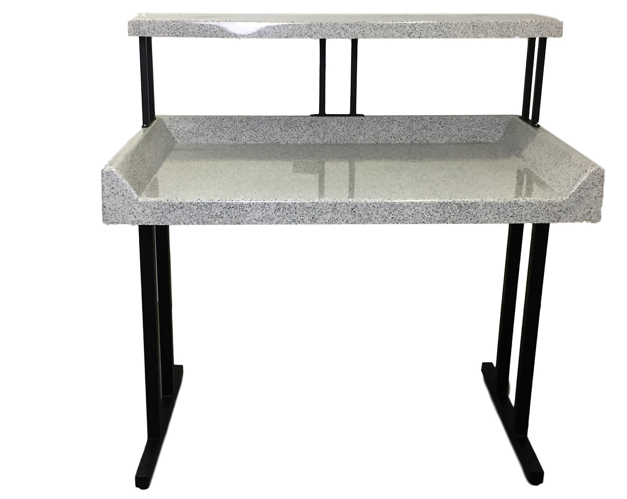 - TFD-U Style 6' Fiberglass Tables With Shelf - Midwest Laundries Inc