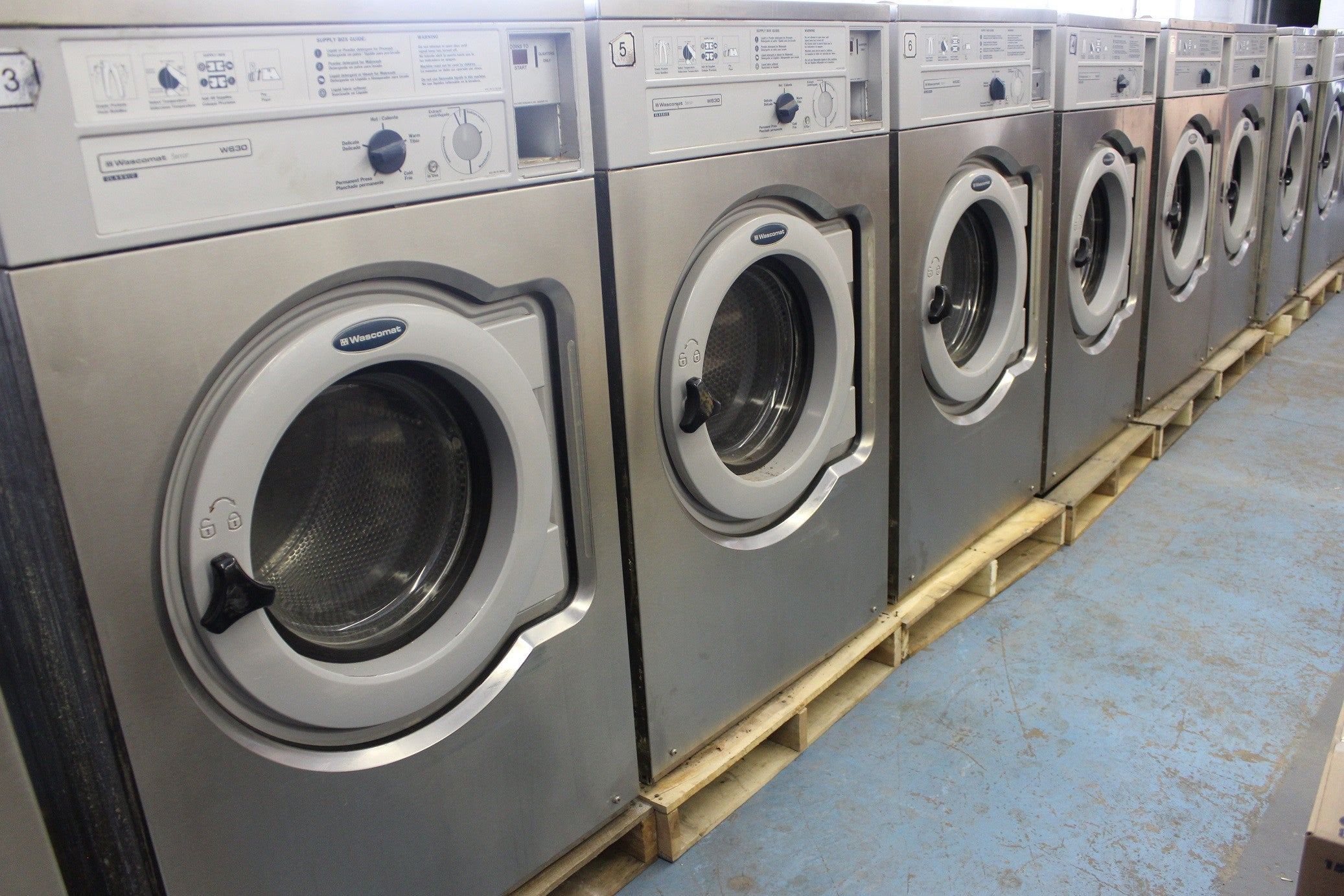 Wascomat W630 Working Condition Midwest Laundries Inc