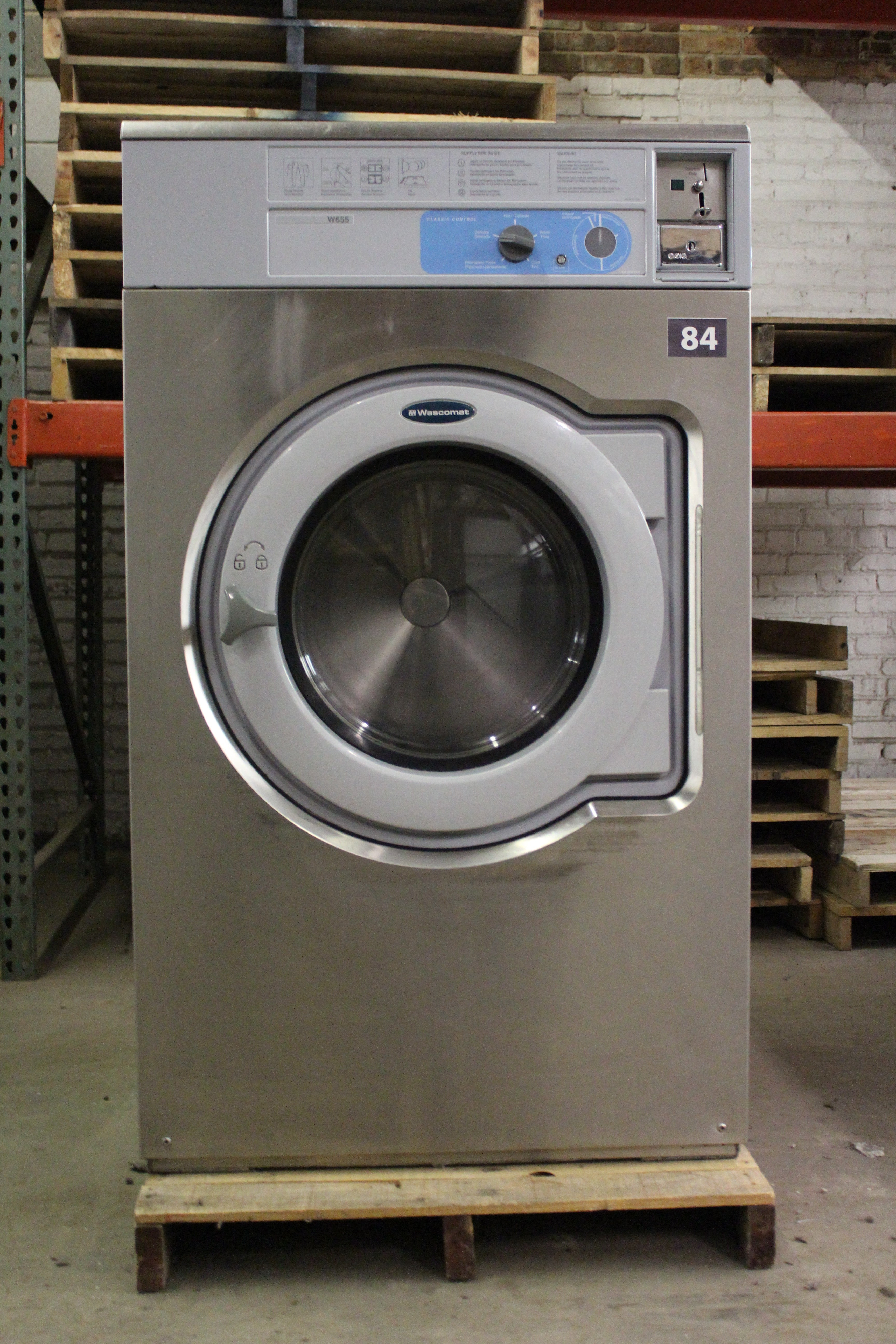 Used Washing Machine For Sale >> 2008 Wascomat W655 55lb