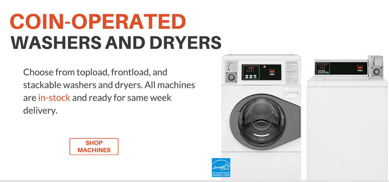 Coin Operated Washers and Dryers For Sale