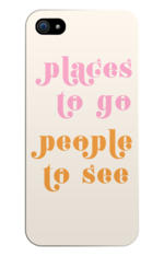 Places to go people to see Phone Case