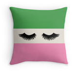 Lovely Lashes - Decor Pillow (more colors)