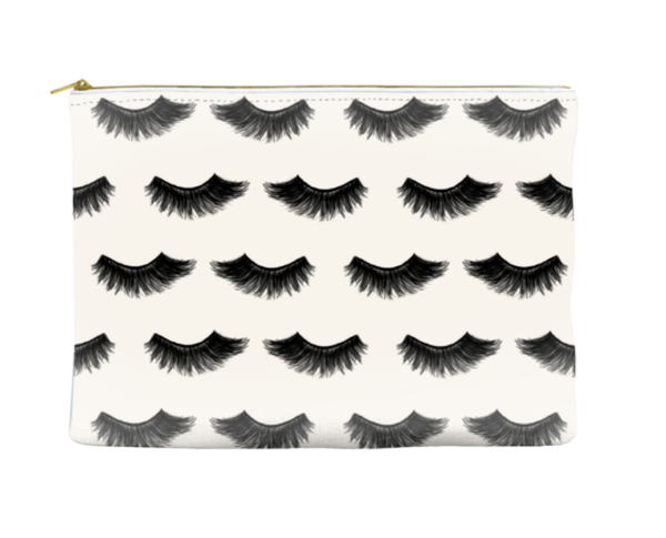 Lux Lashes Makeup Bag, Makeup Pouch, Custom Bag (More Colors)
