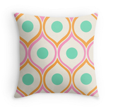 Mid Century Pattern - Decor Pillow (more colors)